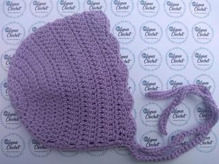 Gorro Bonnet Bebe Niña Tejido Crochet