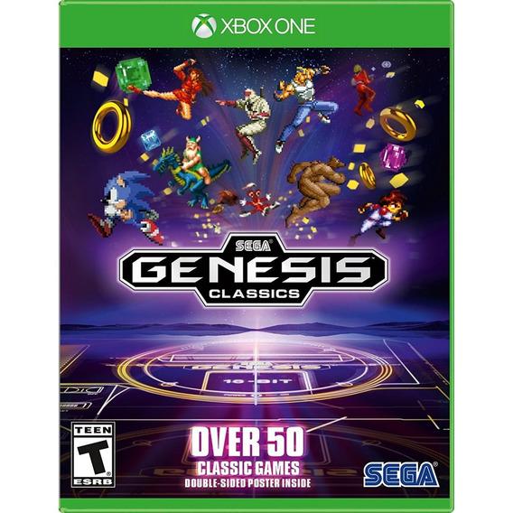 Sega Genesis Classics Xbox One Mídia Física