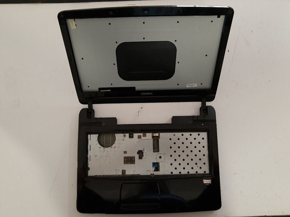 Carcaça Completa Notebook Qbex Nx520 Carcaça Tampa