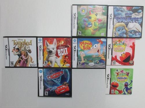 Lote X8 Juegos Originales Para Nintendo Ds