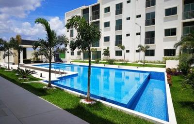 Renta Departamento Nuevo Con Doble Seguridad, Soho Cancun