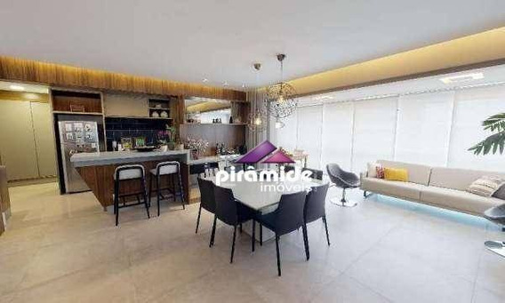 Apartamento Com 3 Dormitórios À Venda, 154 M² Por R$ 1.100.000,00 - Vila Ema - São José Dos Campos/sp - Ap10904