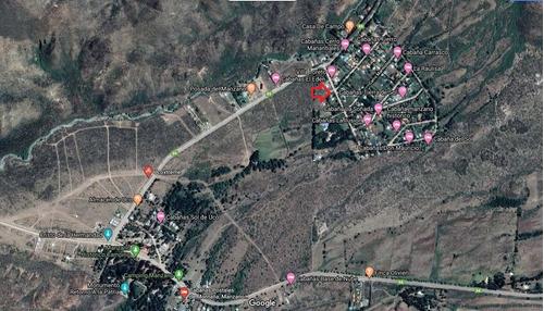 Imagen 1 de 4 de Terreno De 570 M2 , Manzano Histórico, Tunuyán, Mendoza