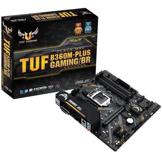 Placa Mãe Asus Tuf B360m-plus Gaming/br Intel Lga 1151