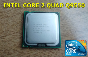 Intel Core 2 Quad Q9550 2.83ghz 12mb 1333mhz
