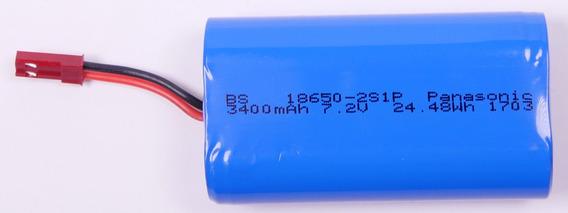 Super Bateria Arizer Solo Dobro De Carga! Original Panasonic