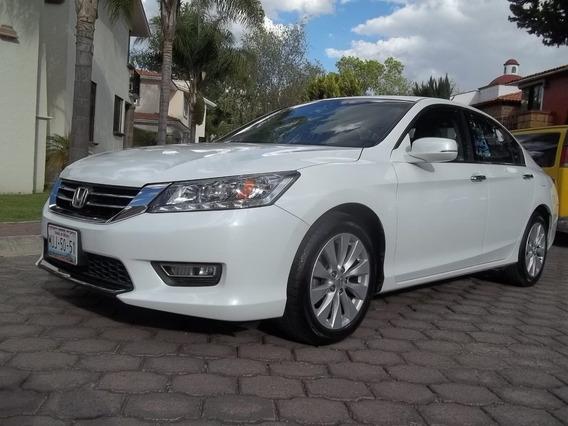 Honda Accord 2013 Exl Sedan V6 Piel Abs Q/c Cd Cvt Nav