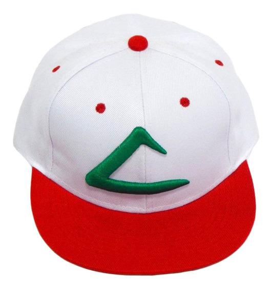 Pokemon Gorra Bordada 3d Ash Ketchum Pokeball + Envio Gratis