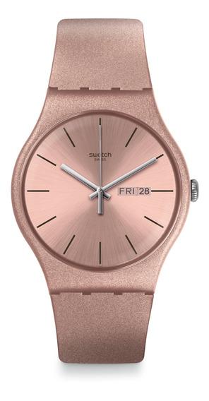 Relógio Swatch Pinkbayang Rose Unissex Suop704