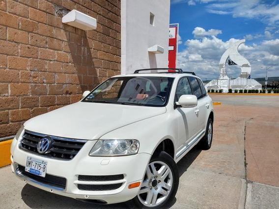 Volkswagen Touareg V8 4.2 Elite Máximo Lujo Blanca Barata