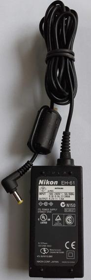 Adapdor Ac Para Câmeras Da Nikon Da Série Coolpix, Eh-61