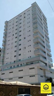Apartamento Com 2 Dormitórios Com Planejados E Vista Para O Mar - Vila Tupi/praia Grande - Ap0161