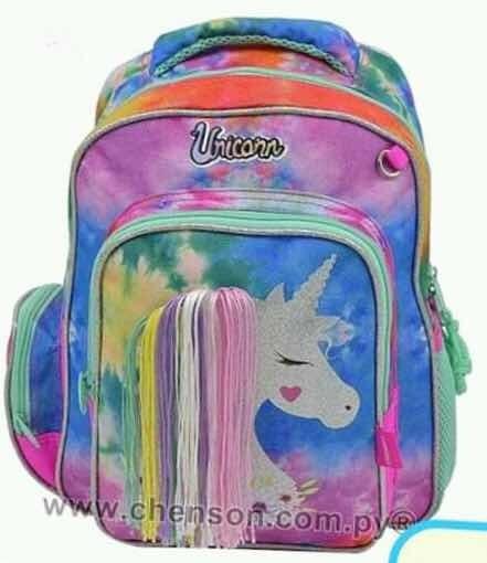 Mochila Infantil Unicornio Chenson