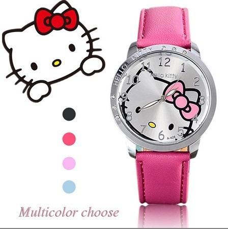 Relógio Hello Kitty Feminino Várias Cores Criança /adulto