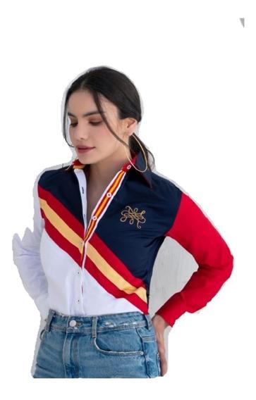 Camisa Muletta Dama Estilo Costantina