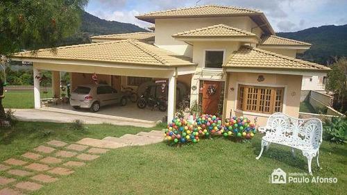 Casa Com 5 Dormitórios À Venda, 480 M² Por R$ 2.300.000,00 - Campo Da Cachoeira - Poços De Caldas/mg - Ca0005
