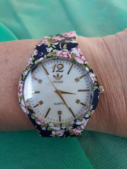 Kit Relógios Femininos Atacado Florido Adids