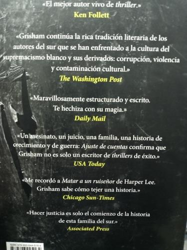 Libro Ajuste De Cuentas John Grisham Ed Megustaleer Mercado Libre