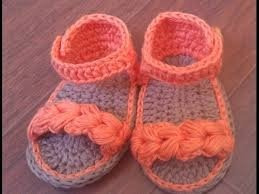 Zapatitos Bebe A Crochet