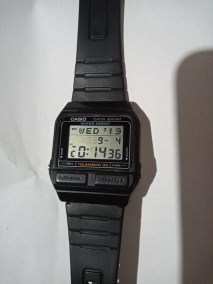 Relógio Casio Data Bank Db31 Leia Todo Anuncio