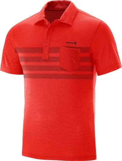 Remera Hombre - Salomon - Chomba - Eared Polo - Casual