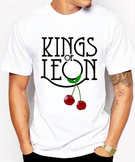 Nuevas Playeras Para Caballero Kings Of Leon Logotipo
