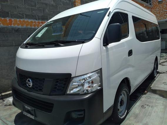 Nissan Urvan 2.5 15 Pas Amplia Aapack Seg Mt 2017 Nv350