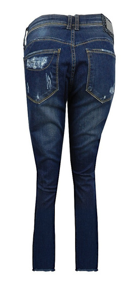 Calca Jeans Lança Perfume Destroyed Skinny