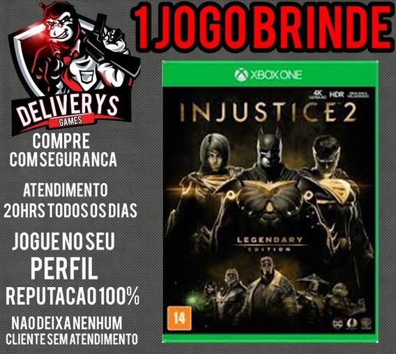 Injustice 2 Legendary Edit Xbox One Midia Digital+ 1 Brinde