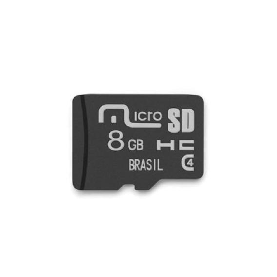 Cartão Memória Micro Sd 8 Gb Classe 10 Original Multilaser