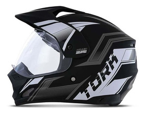 Capacete Moto Th1 New Adventure Masculino Pro Tork