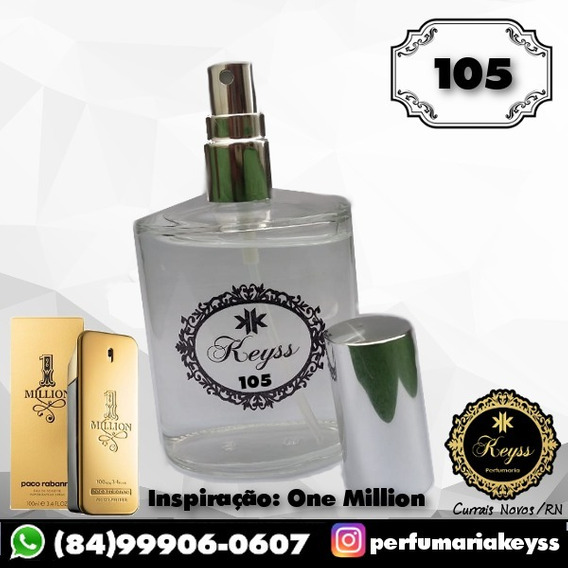 Perfume Keyss Nº 105 [one Million] 100ml Masculino