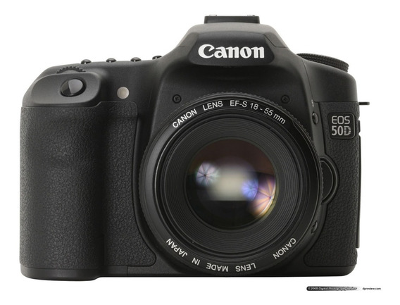 Câmera Canon Eos 50d Foto Digital Profissional E Acessórios