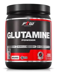 Glutamine 100% Pure Powder Glutamina 1kg