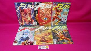 Comic Flash Numeros 1 2 5 6 8 Y 9 Año 2012 Dc