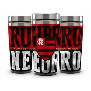 Copo Térmico Oficial Do Flamengo - Rubro Negro
