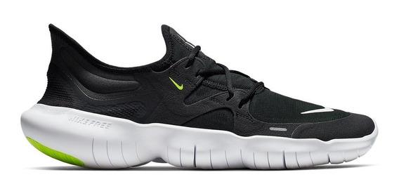 Tênis Nike Free Run 5.0 Masculino - Preto E Branco
