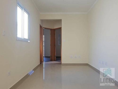 Imagem 1 de 15 de Apartamento Sem Condomínio Com 2 Dormitórios À Venda, 45 M² Por R$ 295.000 - Vila Pires - Santo André/sp - Ap0375