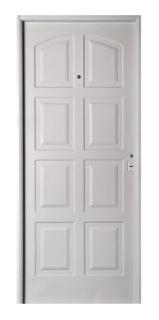 Puerta De Chapa Inyectada 8 Tableros Nexo 80x200