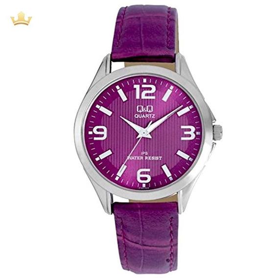 Relógio Q&q By Japan Feminino C192j325y Com Nf