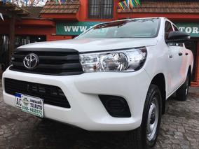 Toyota Hilux 2.4 Cd Dx 150cv 4x2 2018 0 Km