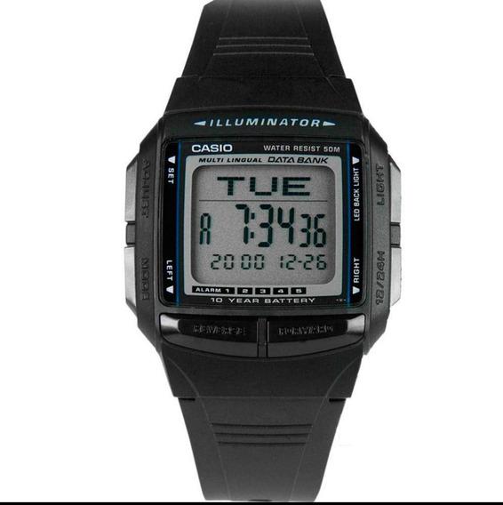Relógio Casio Db36-1a Databank 30 Memória Norte Nordeste