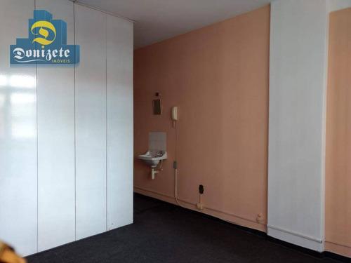 Sala À Venda, 16 M² Por R$ 120.000,00 - Centro - Santo André/sp - Sa0588