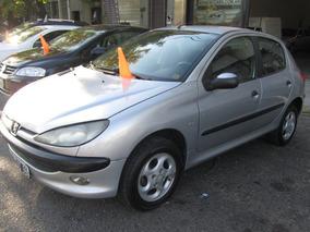 Peugeot 206 1.6 Xt (50 Y Cuotas) Contado 98