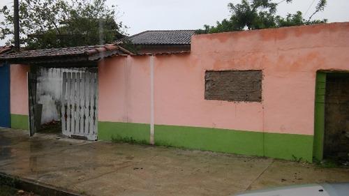 Imagem 1 de 14 de Casa Ficando Lado Praia Em Itanhaém - 2491   Sanm