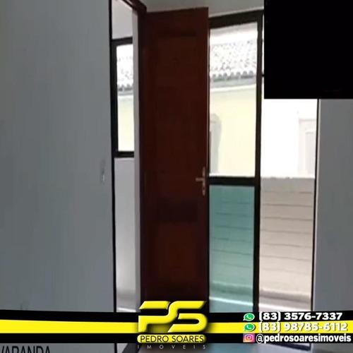 Apartamento Com 2 Dormitórios À Venda, 54 M² Por R$ 145.000 - José Américo De Almeida - João Pessoa/pb - Ap2929