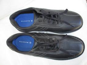 Zapato Escolar De Cuero Numero 44 Marca Guante