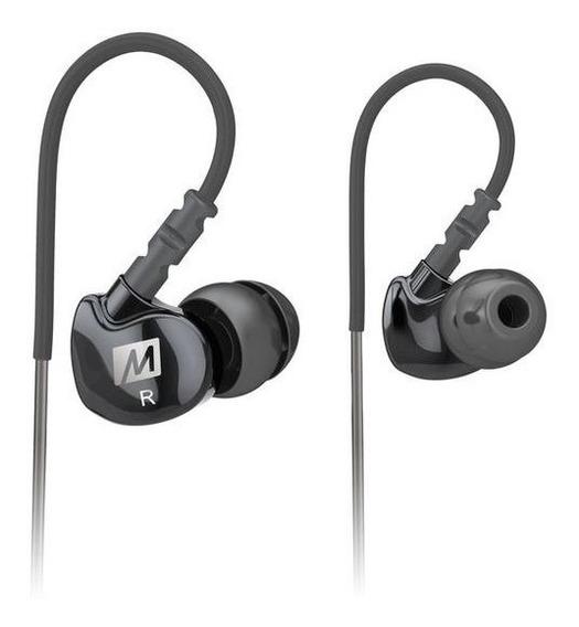 Fone In Ear Mee Audio M6 Segunda Geração Original Transparente Ou Preto !!!