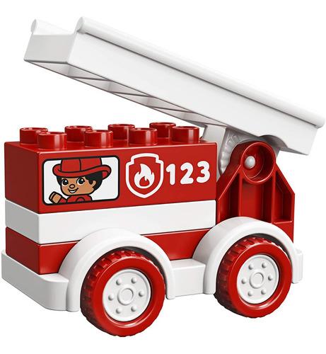 Lego Duplo Mi Primer Carro Bombero Original