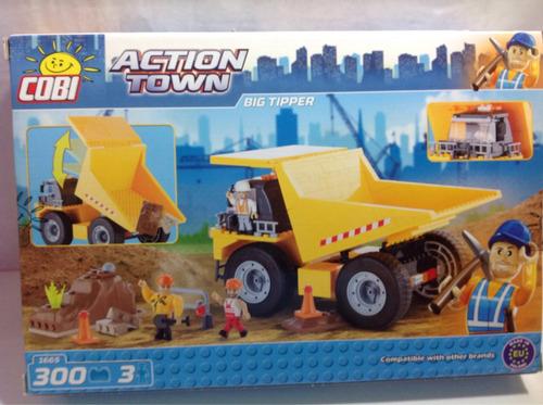 Camión Volcador Cobi Tipo Lego Envio Sin Cargo Caba